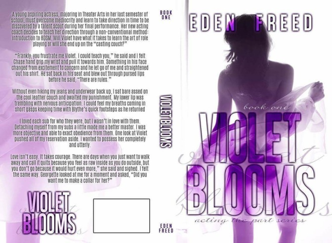 Violet Blooms finally in paperback