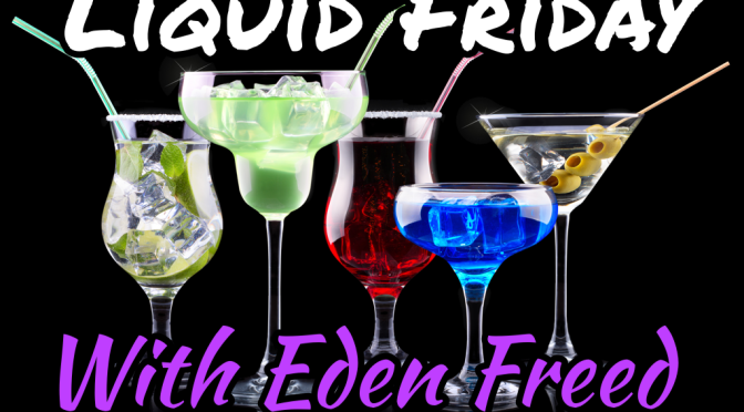 Liquid Friday with author KM Fawcett